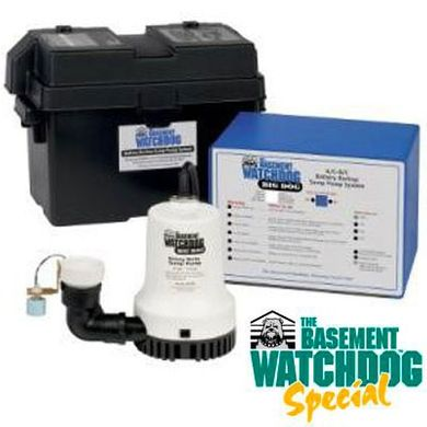The Basement Watchdog® Battery Back-Up Sump Pump