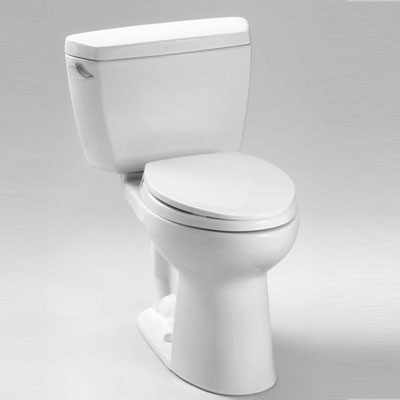 TOTO® Drake® II Two-Piece Toilet, 1.28 GPF – SanaGloss®